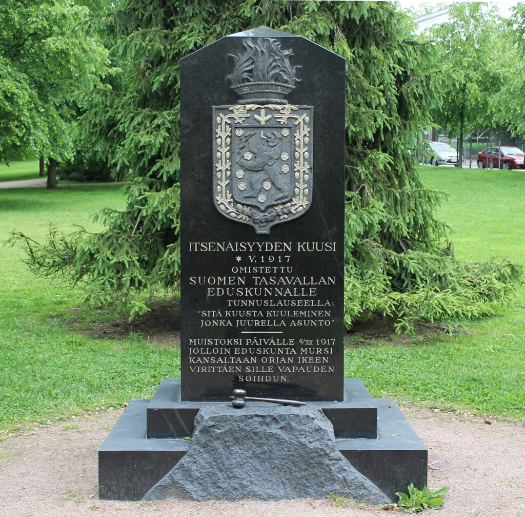 Gedenkstein der finnischen Unabhängigkeit in Helsinki
